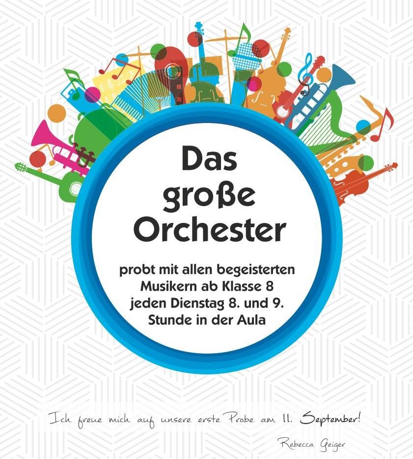 Orchester   Friedrich-List-Gymnasium Reutlingen